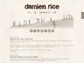 Damien Rice Official Website