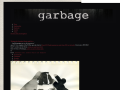 Garbage Official Website