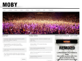 Moby Official Website