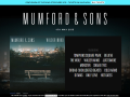 Mumford & Sons Official Website