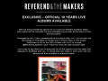 Reverend and the Makers Official Website