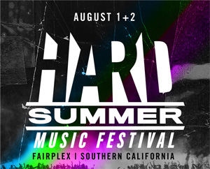 HARD Summer Music Festival 2016 in Pomona CA, USA