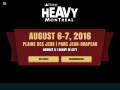 Heavy Montreal Official Website