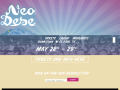 Neon Desert Music Festival Official Website