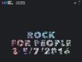 Rock for People Official Website