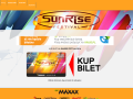 Sunrise Festival Official Website